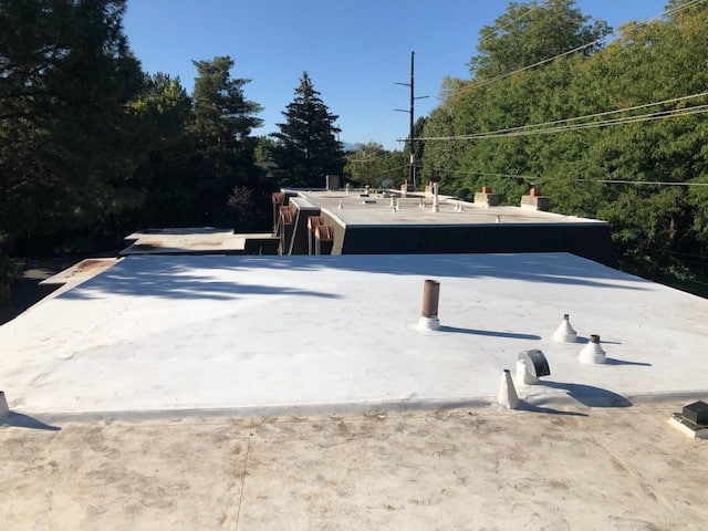 TPO PROVO Flat Roof Replacement